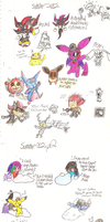 Md and Kiba: SUMMER 12 DOODLES O SPEW by Mdpikachu