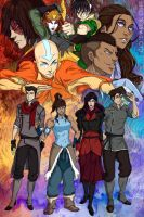 Team Avatar by CicisArtandStuff
