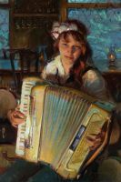 Of an Evening - Daniel Gerhartz, OPAM by OilPaintersofAmerica
