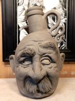 Another Mr. Mustache Jug- WIP by thebigduluth
