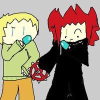 Axel and Axel by Enox-chan