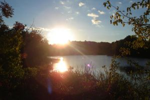 sunset-at-salisbury-pond DSC01086 by Lunarsight