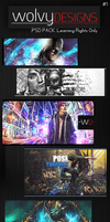 WolvyDesigns PSD Pack 1 by WolvyDesigns