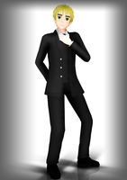 [MMD] British gentleman by asha1095