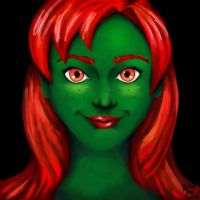 Young Justice Miss Martian  by BiteMeFox