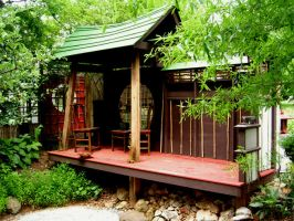 Japanese Tea House by abreathoutofacoma
