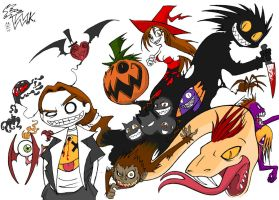 The Halloween In My Mind by MikeBasilisco