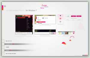 Zune Collection for Win7 by giannisgx89