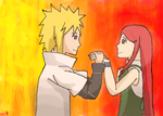 OTP Prompt: MinaKushi holding hands by dracometeor9001
