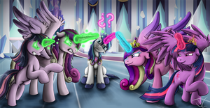 Fanart - MLP. This is so confusing by jamescorck
