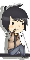 chibi Nico di Angelo by Coffee-Way