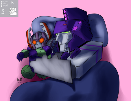 Expression Challenge SNORE - Tidal Wave 3N Colors by ConstantScribbles