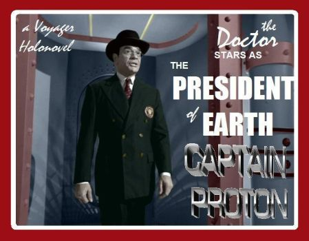 Lobby Card: President of Earth by LizzyChrome