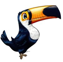 toucan 001 by AngeloCarvalho
