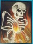 Skull Fire by chemicalpanic1