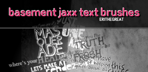 PS Brushes - Basement Jaxx by erithegreat