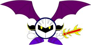 Meta knight by el-dark-link