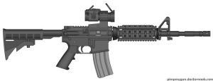 Security Forces M4 by TGU
