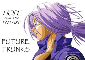 [MS Paint] Future Trunks Long Hair by MiraiWarriorWithin