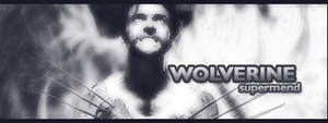 Wolverine by Supermend