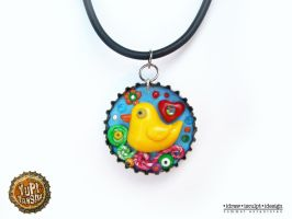 duck pendant by Dinuguan