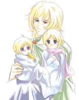 APH - Family of Three by R-ninja