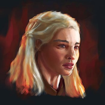 Mother of Dragons - Speed Portrait by PerfectDork