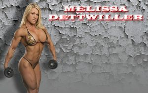 Melissa Dettwiller Wallpaper by LordDaroth