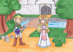 A Link Between Worlds by MimiStars