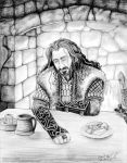 Thorin in Bree by cfgriffith