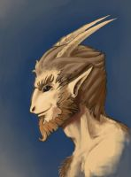Satyr portrait by SHininMysticice