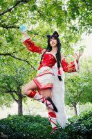 Ahri by EnchantedCupcake
