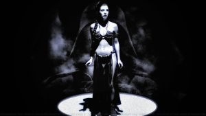 Carrie Fisher Slave Girl Princess III Ver 2 Paint by Dave-Daring