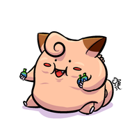 KfK Donation Doodle - Clefairy-Dust and an Update! by cavemonster