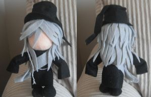 Undertaker Plushie by BurntFlame