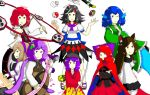 14th Touhou Project : Double Dealing Characters by Iormi