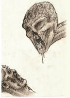 A Corpse and a Mutant Sketches by Henrikossauros