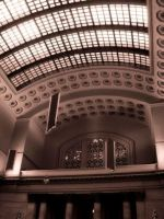 Ceiling of Union Station by stitch52481