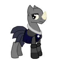 Judoon Pony by Puddle-jumper3
