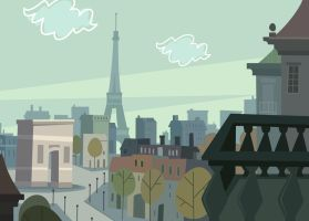 TDI paris balcony background by Thatmexicanuzer