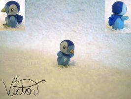 393 Piplup by VictorCustomizer