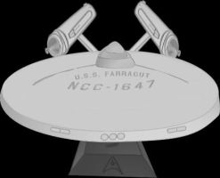 USS Farragut Model by CaptainBarringer