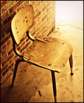 Old Chair by katlinb