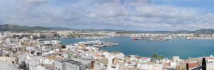 Ibiza Old Town by legley