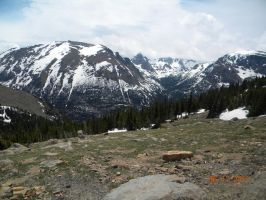 Rocky Mountains by Hotah-Wahya