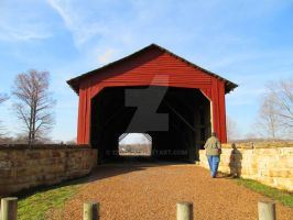 Covered Bridge at Chester, IL by 12of8