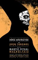 HERO DESTROYED POSTER by BURZUM