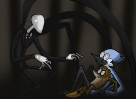 slenderman by yinller