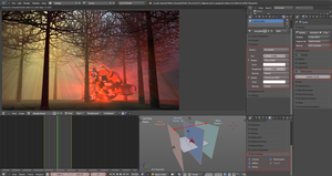 Quicktip: Fake Volumetric lights in Cycles by DeargRuadher