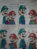 Luigi's A Genius! by MC-Ash-Tray